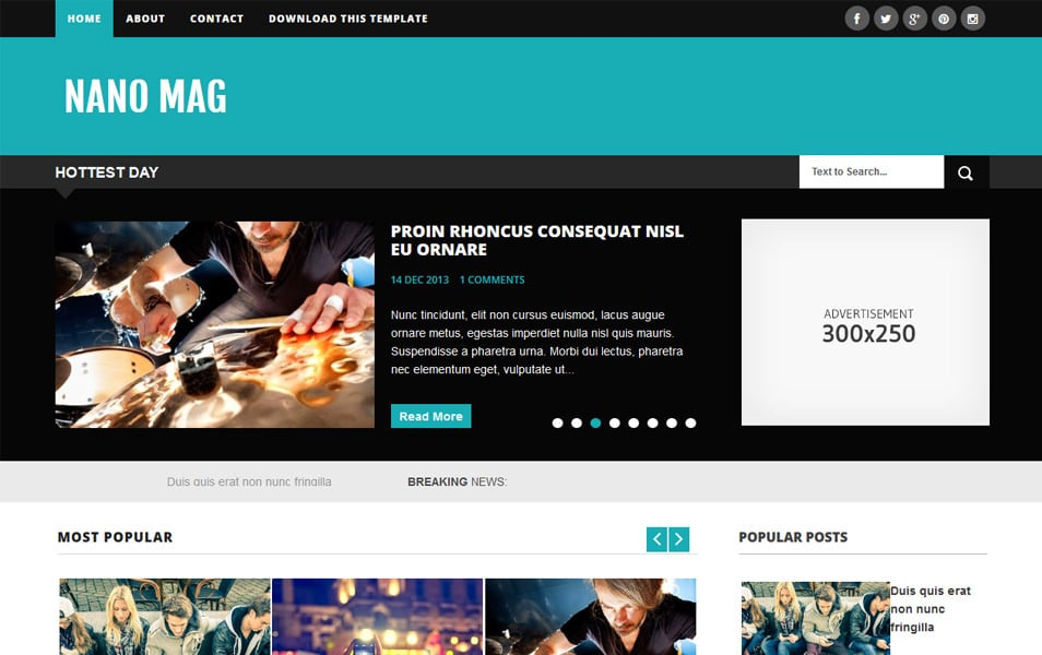 Nano-Mag-Responsive-Blogger-Template - 60+ Blogger Latest Free Gallery Style Templates [year]