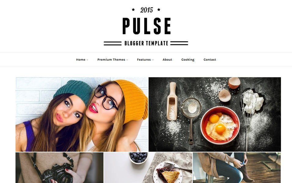 Pulse-Responsive-Blogger-Template - 60+ Blogger Latest Free Gallery Style Templates [year]