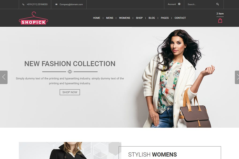 Shopick - 52+ Latest Free Gallery Style Blogger Templates 2019