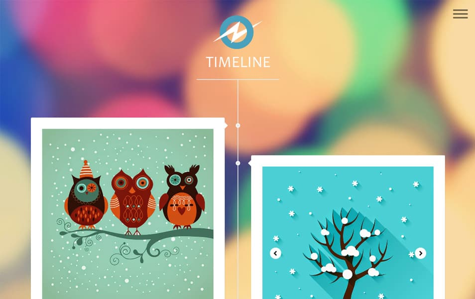 Timeline-Responsive-Blogger-Template - 60+ Blogger Latest Free Gallery Style Templates [year]