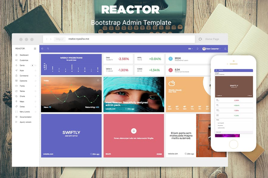 efcf6bd9-17e7-4740-a684-8c56297f6aaa - 110+ Top Best Free Bootstrap Admin Templates