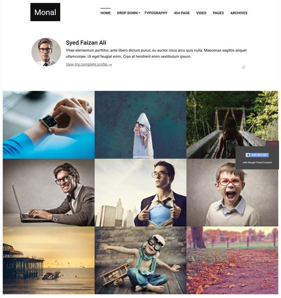 monal-flexible-free-blogger-template - 110+ FREE RESPONSIVE BLOGGER TEMPLATES [year]
