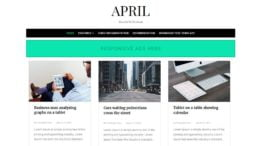 April-Responsive-Blogger-Template