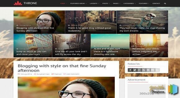 Best-Gallery-Style-Blogger-Templates-2-1 - 50+ Top Free Grid Style Blogger Templates 2019
