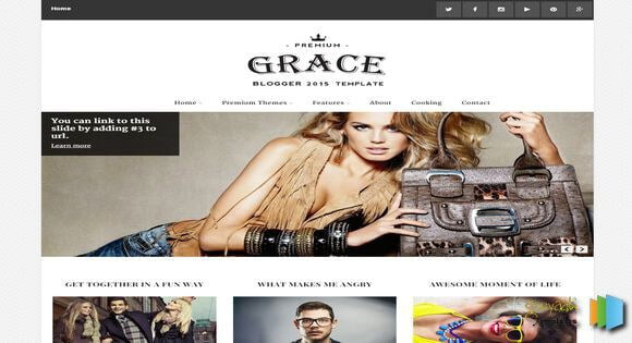 Best-Gallery-Style-Blogger-Templates-3 - 53+ Blogger Top Free Grid Style Templates [year]