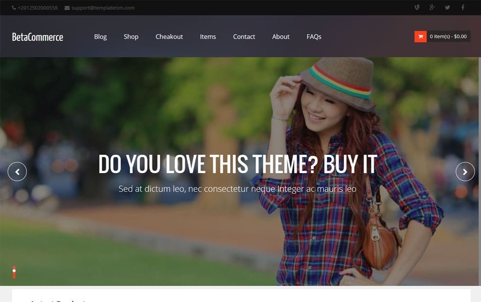 BetaCommerce-Responsive-Blogger-Template - 53+ Blogger Top Free Grid Style Templates [year]