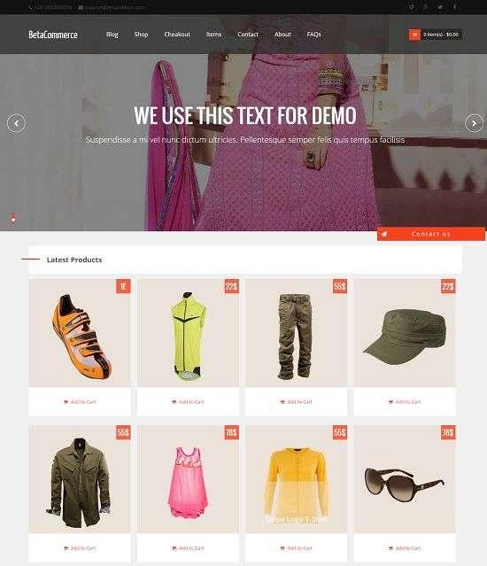 BetaCommerce-eCommerce-Online-Shopping-Store-Blogger-Template - 60+ Top Free Ecommerce Blogger Templates [year]