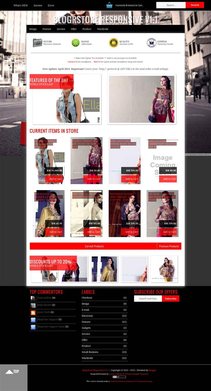 BlogerStore-Blogger-Template-Custom - 60+ Top Free Ecommerce Blogger Templates [year]
