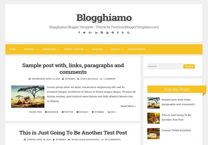 Blogghiamo-Blogger-Template - 50+ Top Free Web 2.0 Blogger Templates 2019