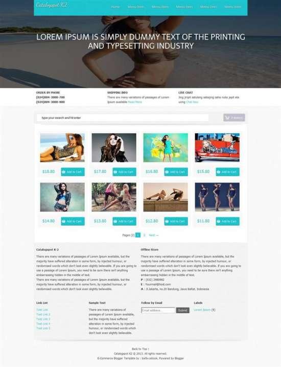 Catalogspot-K2-E-Commerce-Blogger-Template-Custom-1 - 60+ Top Free Ecommerce Blogger Templates [year]
