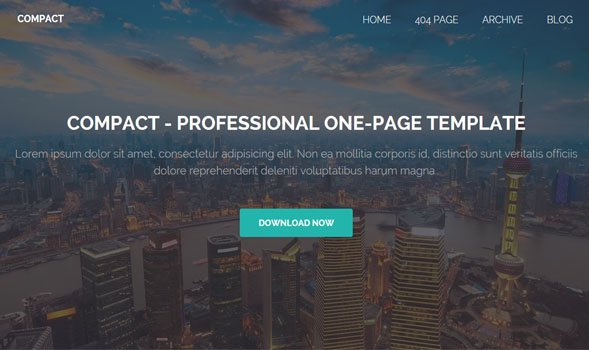 Compact-Blogger-Template - 50+ Top Free Portfolio Blogger Templates 2019