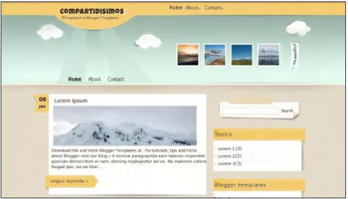 Compartidisimos - 50+ Top Free Web 2.0 Blogger Templates 2019