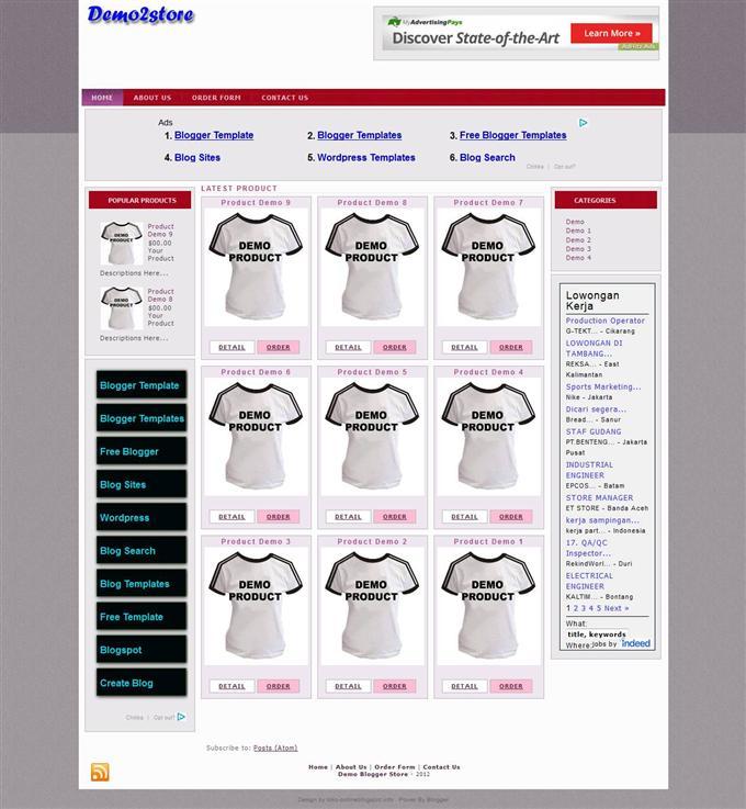 Demo2-Ecommerce-Blogger-Template-Custom - 60+ Top Free Ecommerce Blogger Templates [year]