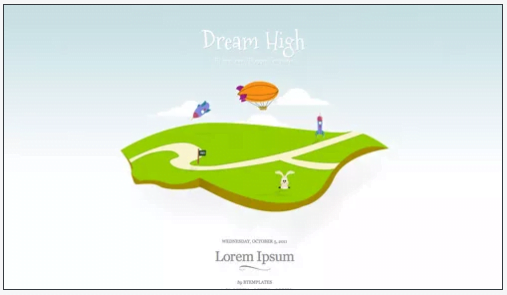 Dream-High - 50+ Top Free Web 2.0 Blogger Templates [year]