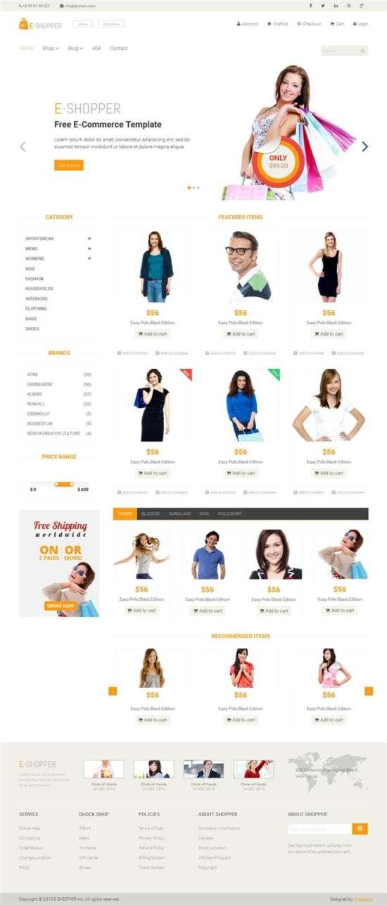 E-Shopper-Ecommerce-Blogger-Template-Custom-1 - 60+ Top Free Ecommerce Blogger Templates [year]