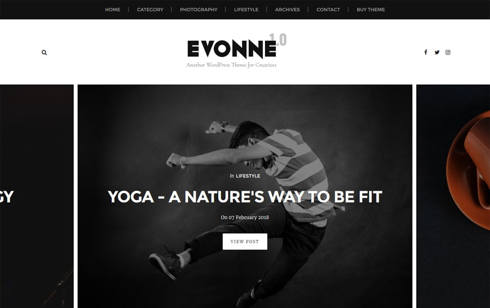 Evonne-Responsive-Blogger-Template - 111+ Blogger Top Free Magazine Style Templates [year]