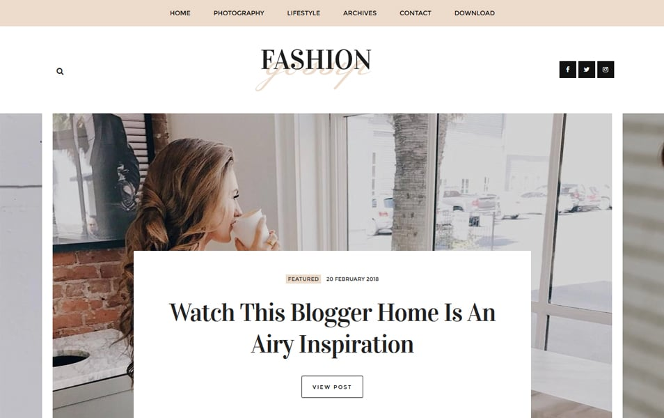 Fashion-Gossip-Responsive-Blogger-Template - 111+ Blogger Top Free Magazine Style Templates [year]