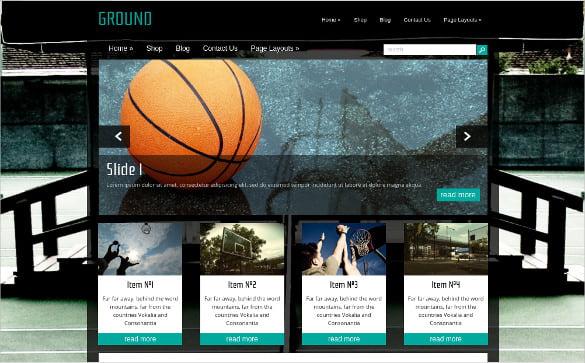 Free-Gaming-HTML-Website-Template - 50 Best Gaming HTML Website Templates 2019