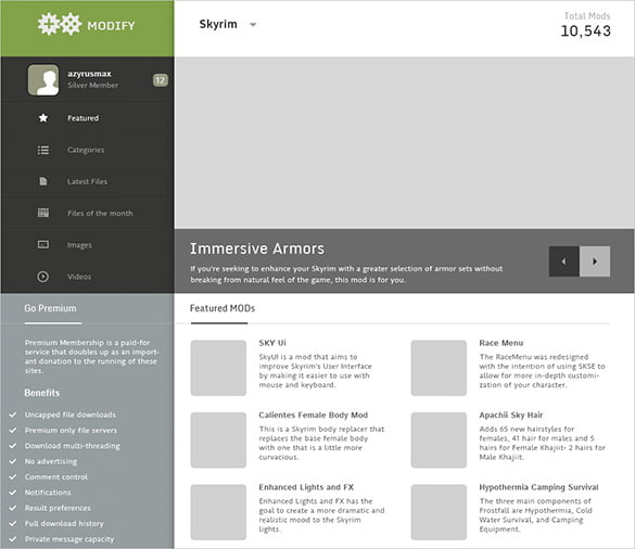 Fully-Layered-Customizable-Websit-1 - 57+ Best Gaming HTML Website Templates [year]