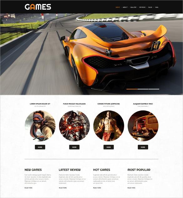 Game-Portal-Responsive-WordPress-Website-Theme - 57+ Best Gaming HTML Website Templates [year]
