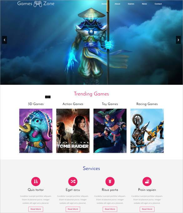 Game-Studio-Zone-Flat-Bootstrap-Responsive-Web-Tem - 57+ Best Gaming HTML Website Templates [year]