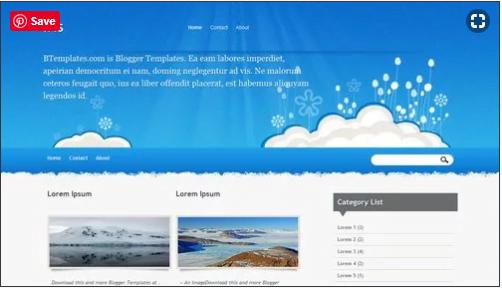 Iris - 50+ Top Free Web 2.0 Blogger Templates 2019