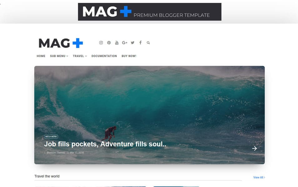 MagPlus-Responsive-Blogger-Template - 111+ Blogger Top Free Magazine Style Templates [year]