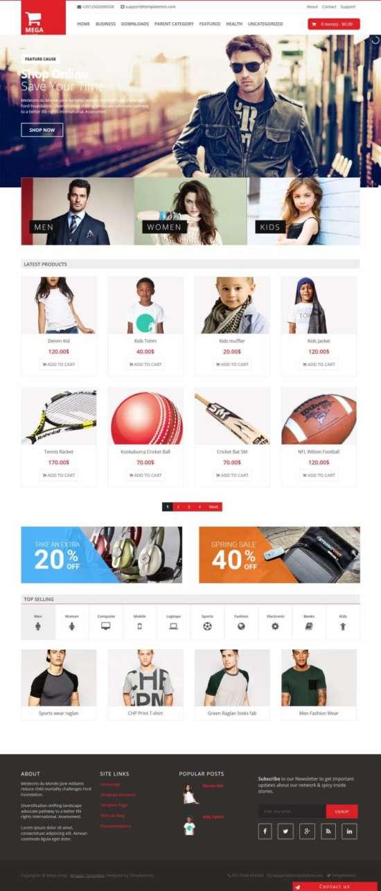 Mega_Shop_-_2016-04-29_17.32.20-1-1 - 60+ Top Free Ecommerce Blogger Templates [year]