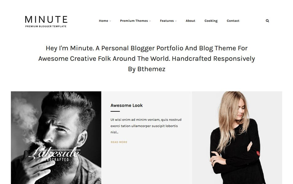 Minute-Responsive-Blogger-Template1 - 53+ Blogger Top Free Grid Style Templates [year]