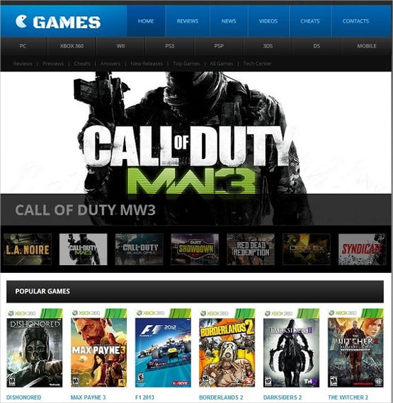 People-Gaming-Website-Template - 50 Best Gaming HTML Website Templates 2019