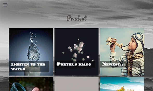 Prudent-Blogger-Template - 50+ Top Free Portfolio Blogger Templates 2019
