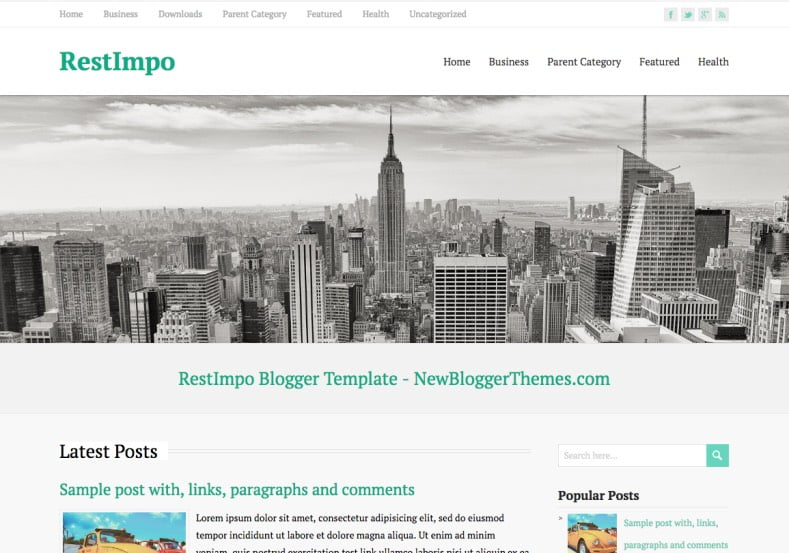 RestImpo-Blogger-Template-2 - 50+ Top Free Web 2.0 Blogger Templates [year]