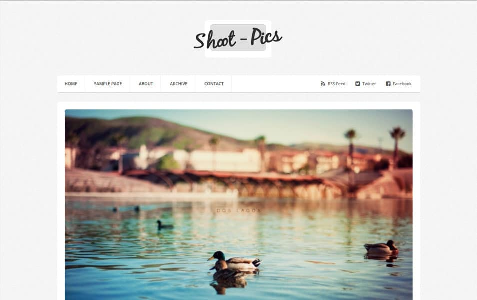 Shoot-Pics-Photography-Blogger-Template - 53+ Blogger Top Free Grid Style Templates [year]