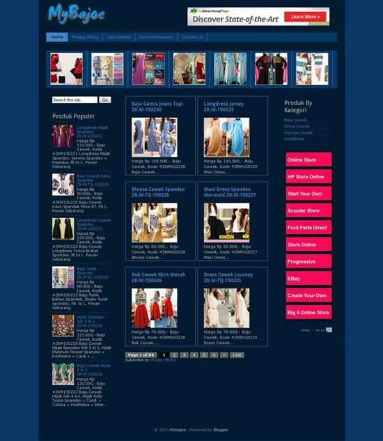 Simple-Blogger-Online-Store-Template-Custom-1 - 60+ Top Free Ecommerce Blogger Templates [year]