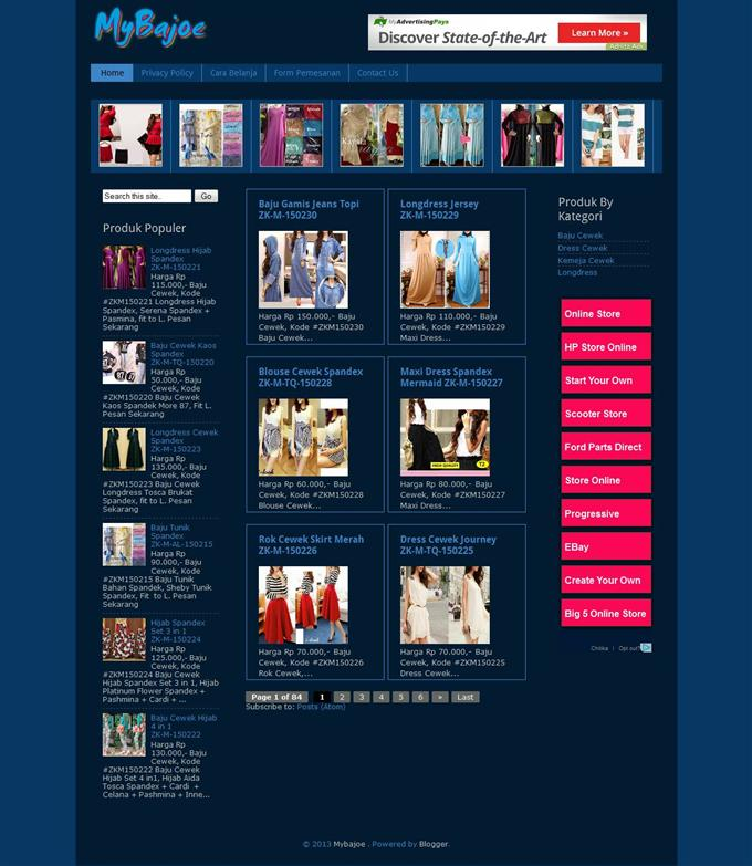 Simple-Blogger-Online-Store-Template-Custom - 60+ Top Free Ecommerce Blogger Templates [year]