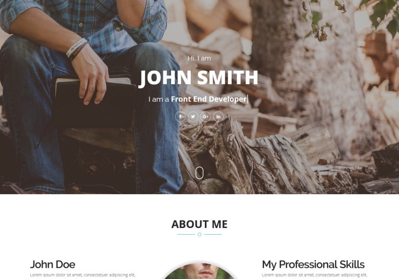 Storm-Blogger-Template - 54+ Top BEST Free One Page Blogger Templates [year]