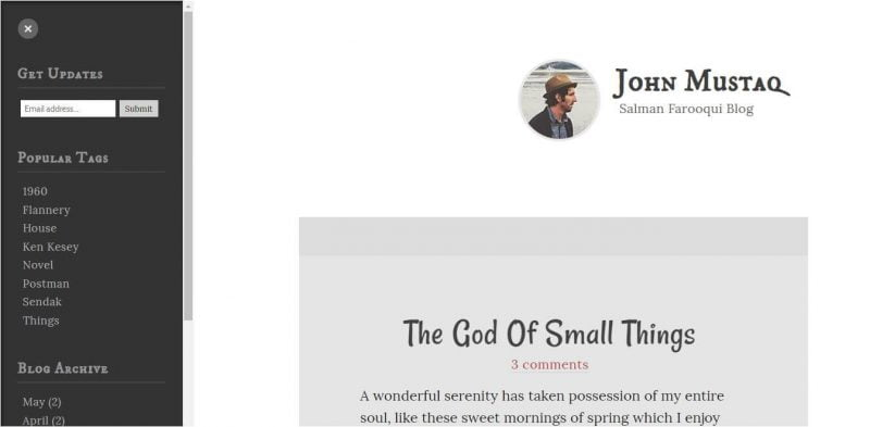 Thoughtful-800x393 - 53+ Top BEST Free Minimalist Blogger Templates [year]