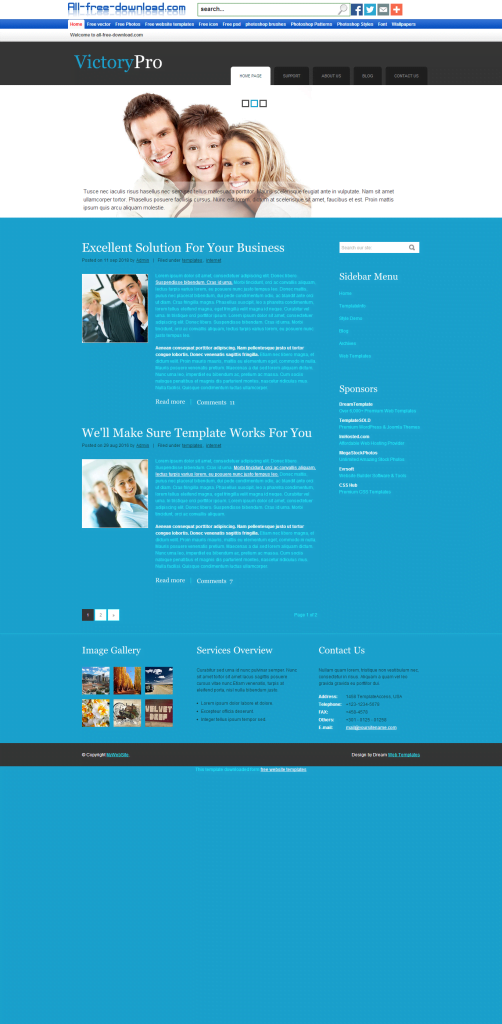 Victory-Pro-Template-502x1024 - 50+ Top Free Education Blogger Templates 2019