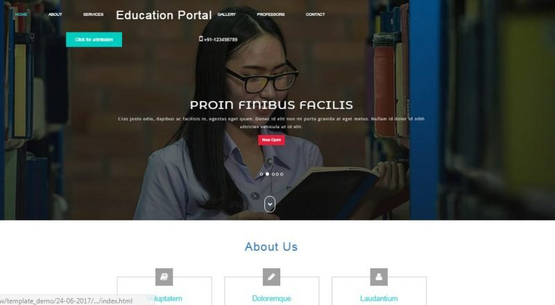 education-portal-800x440 - 50+ Top Free Education Blogger Templates 2019