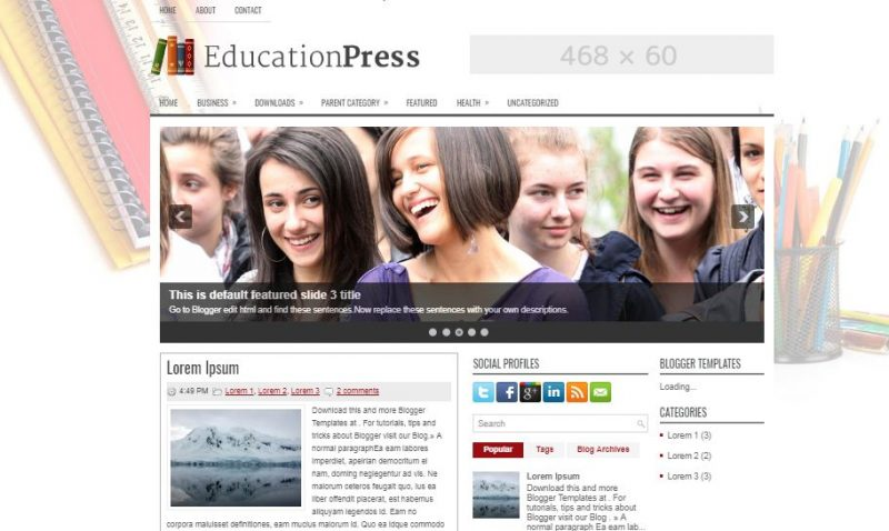 education-press-800x478 - 50+ Top Free Education Blogger Templates 2019