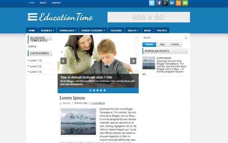 education-times-800x503 - 50+ Top Free Education Blogger Templates 2019