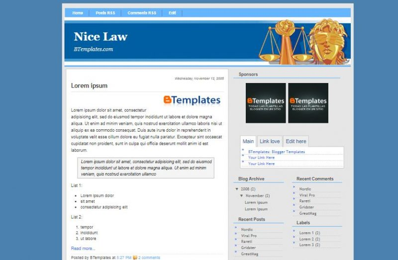 nice-law-800x523 - 50+ Top Free Education Blogger Templates 2019
