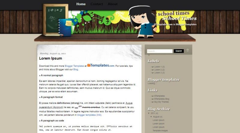school-time-800x446 - 50+ Top Free Education Blogger Templates 2019