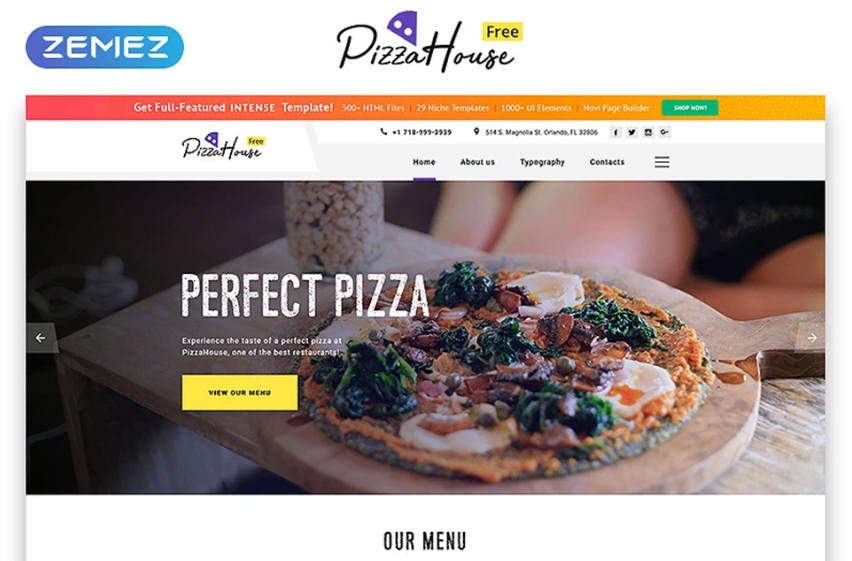12_Free-HTML5-Theme-for-Restaurant-Website - Top 111+ Free Responsive HTML5 Website Templates [year]