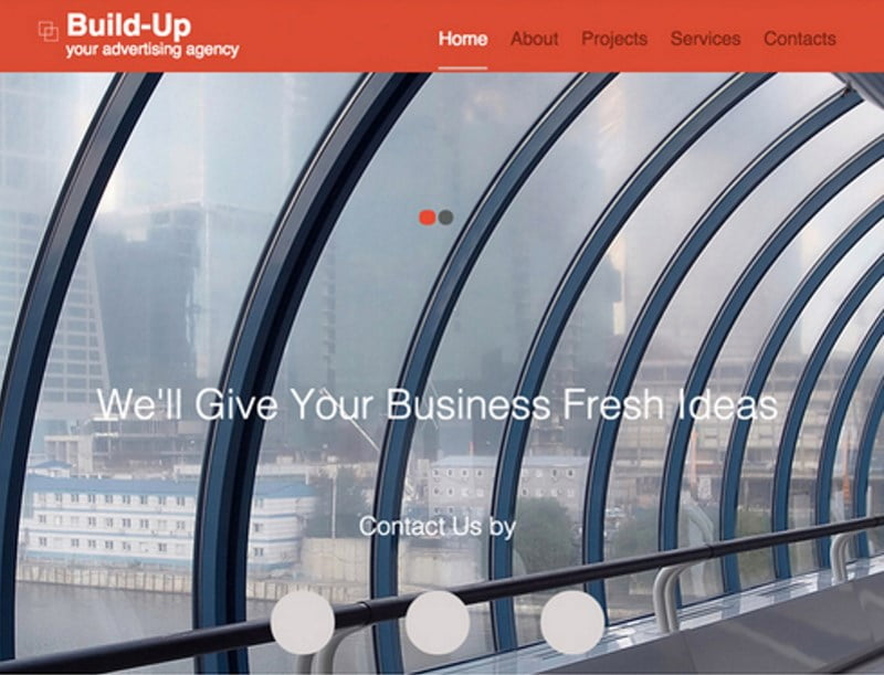 8-advertising-agency-responsive-website-template - 57+ Best Free Digital Agency HTML Website Templates [year]