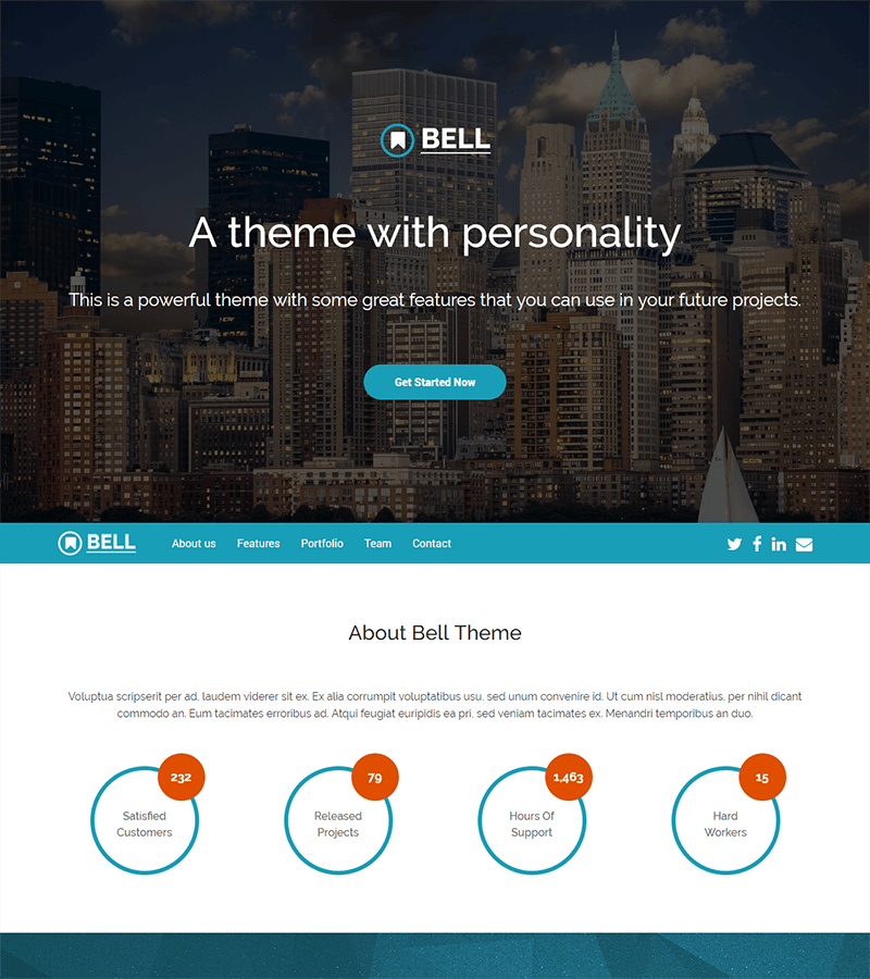 800-2-2 - 110+ Free Bootstrap HTML Responsive Templates 2019