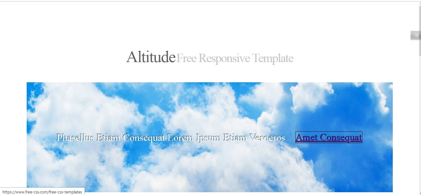 ALTITUDE - 56+ Best Free Architecture HTML Website Templates [year]