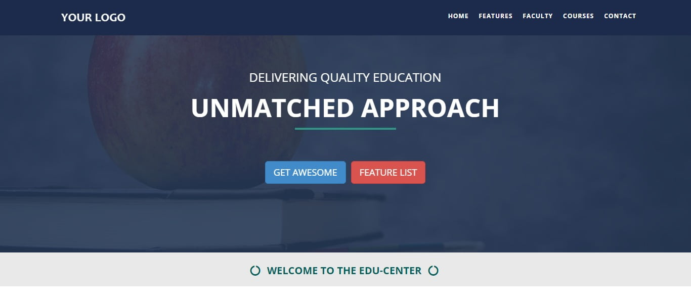 BS-EDUCATION - 57+ Best Free Education HTML Website Templates