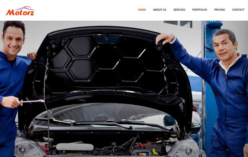 Car-Repair-and-Wash-Bootstrap-Template-Motorz