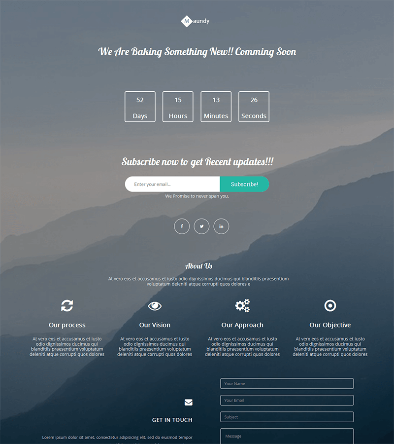 Coming-Soon-HTML - 75+ Free Coming Soon HTML Responsive Templates 2019